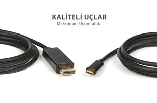 Dark 1.8M USB3.1 Type-C - Display Port 4K@60p Kablo